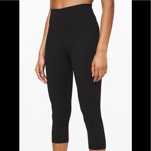 Lulu Lemon Athletica Black Running Pant Sz. 4 #56